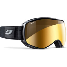 Julbo Starwind Lunettes de protection, black-grey/zebra/gold flash